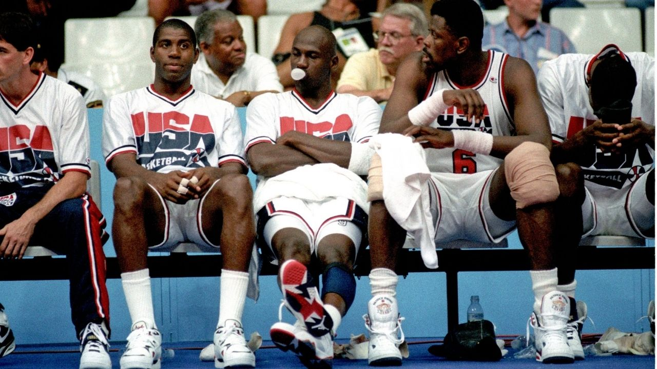 """""""Dream Team made it tougher for current USA Team"""": Patrick Ewing explains how rest of the world caught up with Kevin Durant-led squad in the years since Jordan, Bird and Magic led the greatest team ever"""