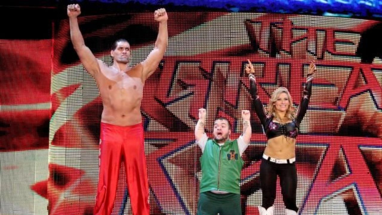 Hornswoggle claims he used to bully The Great Khali every week