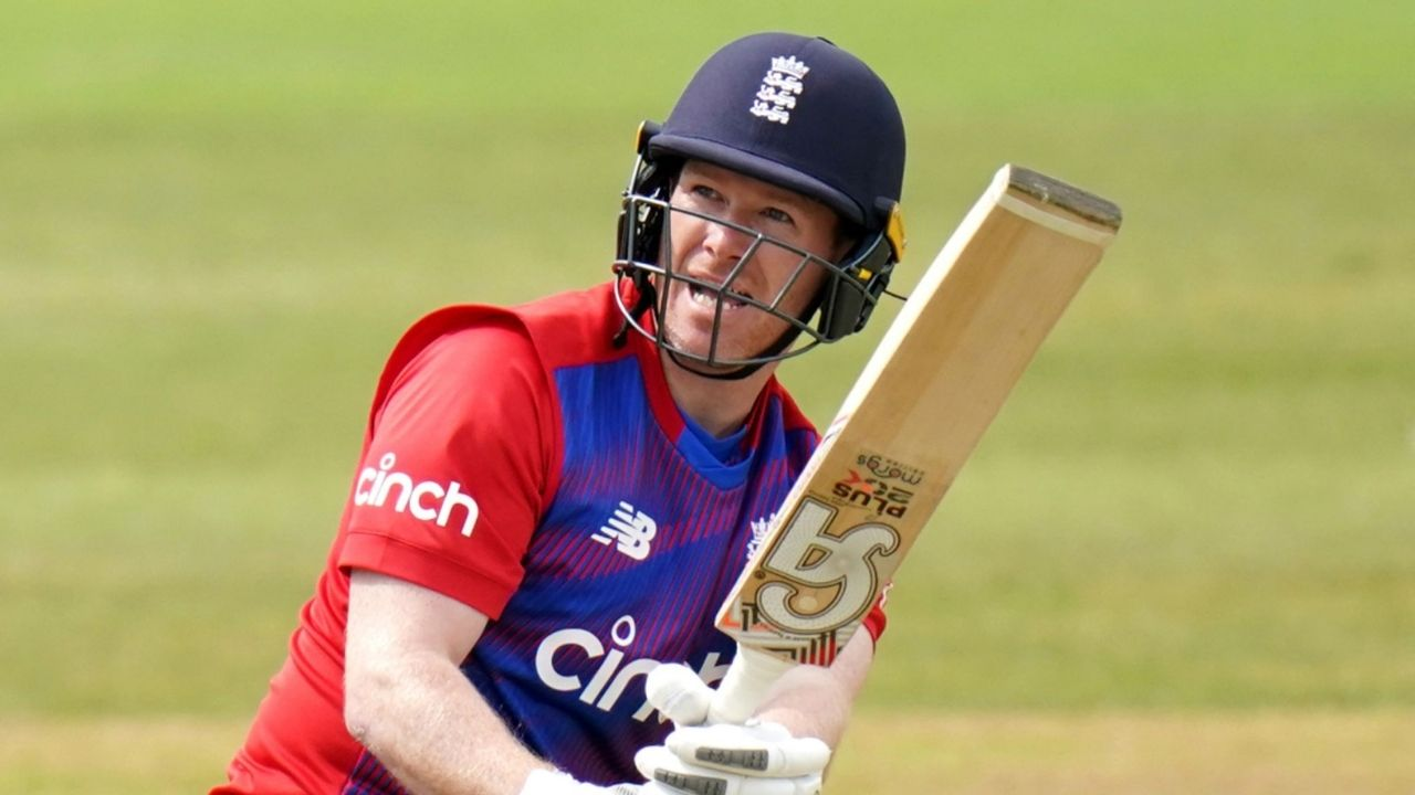 Why is Eoin Morgan not playing today's 2nd T20I between England and Pakistan at Headingley?