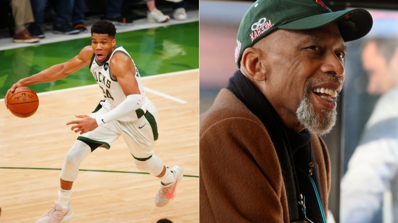 """""""I'm little bit taller than Giannis Antetokounmpo, so that might help"""": Former NBA legend Kareem Abdul-Jabbar discusses a 1-on-1 matchup with the Milwaukee superstar"""
