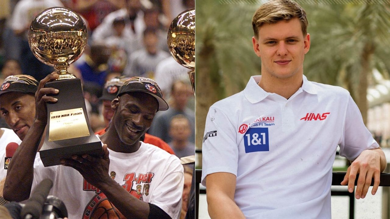 """""""Michael Jordan is the greatest of his sport"""": F1 star driver Mick Schumacher reveals why he would select the Chicago Bulls GOAT to have a meal with"""