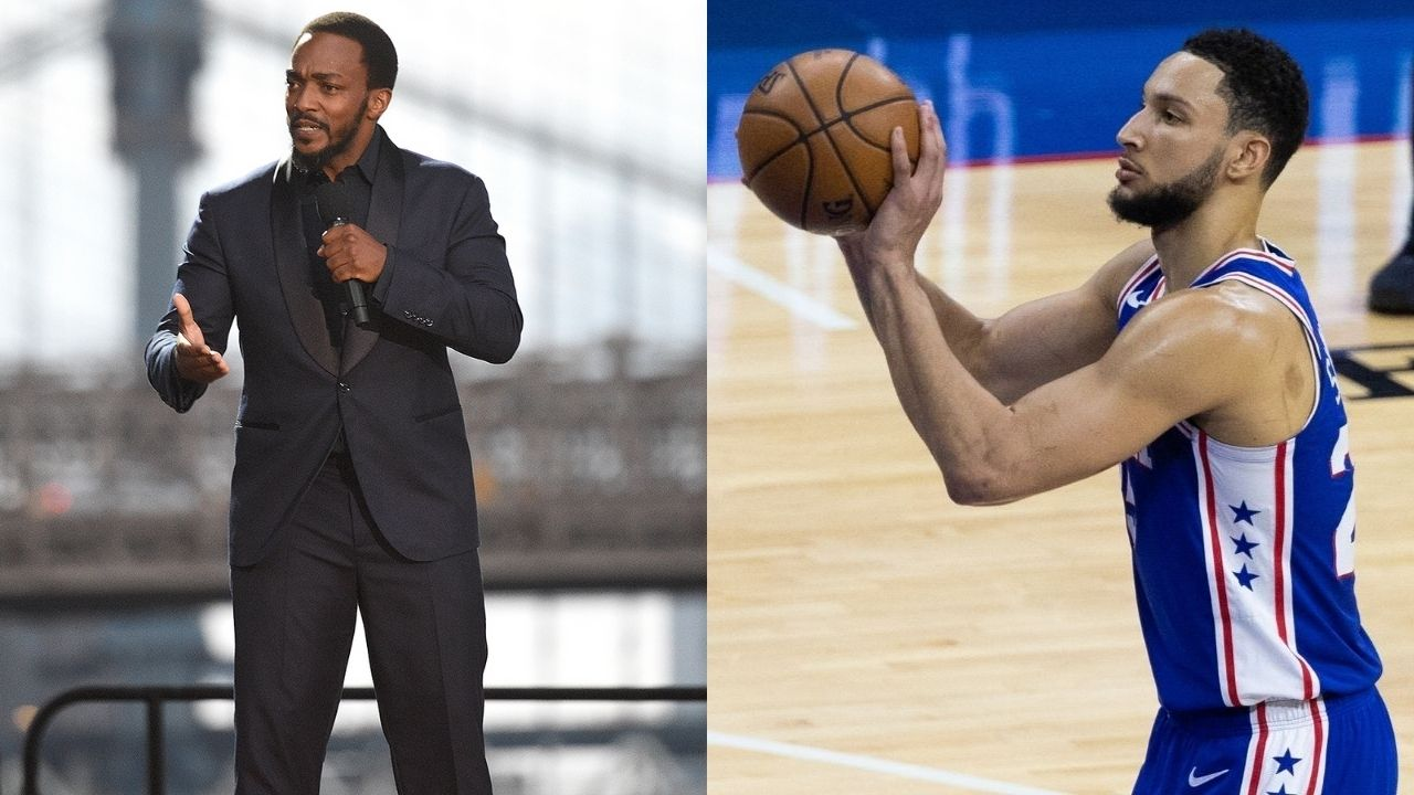"""""""Ben Simmons is building orphanages with his Playoff bricks"""": ESPYs 2021 host Anthony Mackie roasts the Sixers' star for his shooting woes"""
