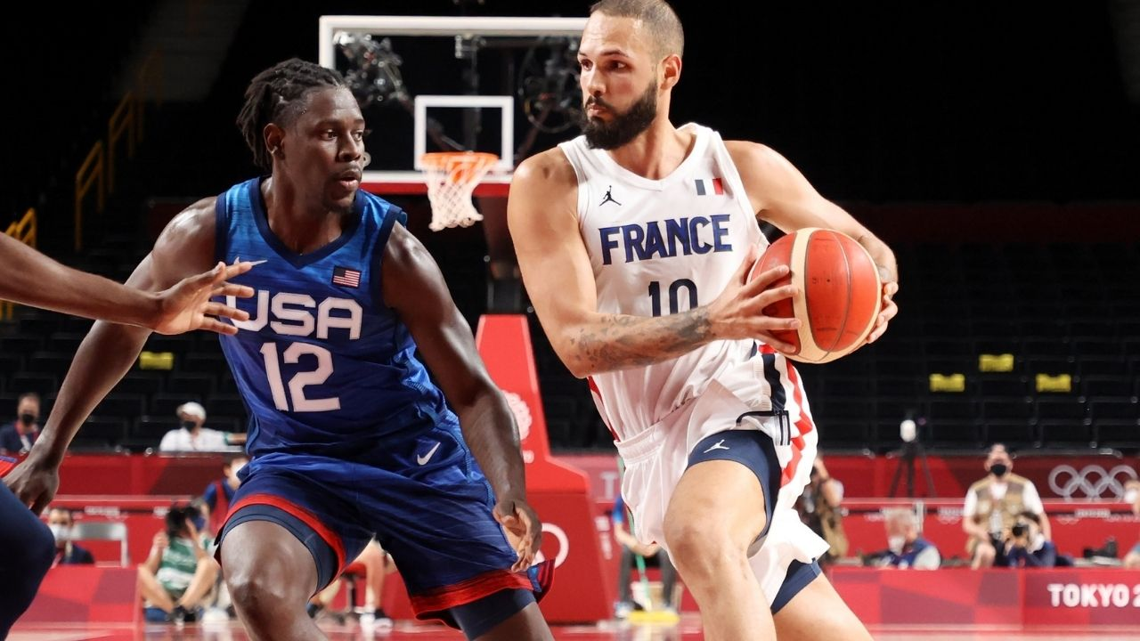 """""""Hungover Jrue Holiday was the best player on Team USA"""": NBA Fans praise Bucks star's gritty performance after Kevin Durant foul trouble contributes to France beating reigning Olympic gold medalists"""