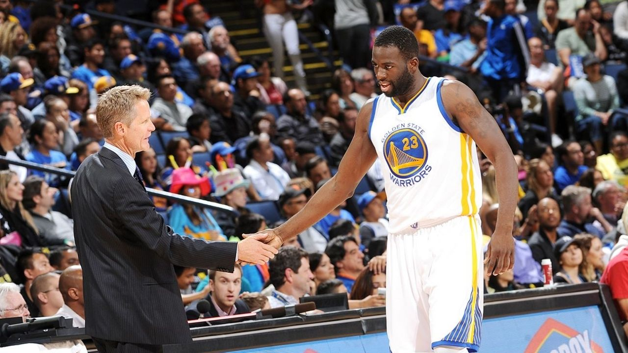 """""""Draymond Green is shooting the hell out of the ball"""": Warriors' Head Coach Steve Kerr gives news that should excite Stephen Curry and all Warriors fans alike"""