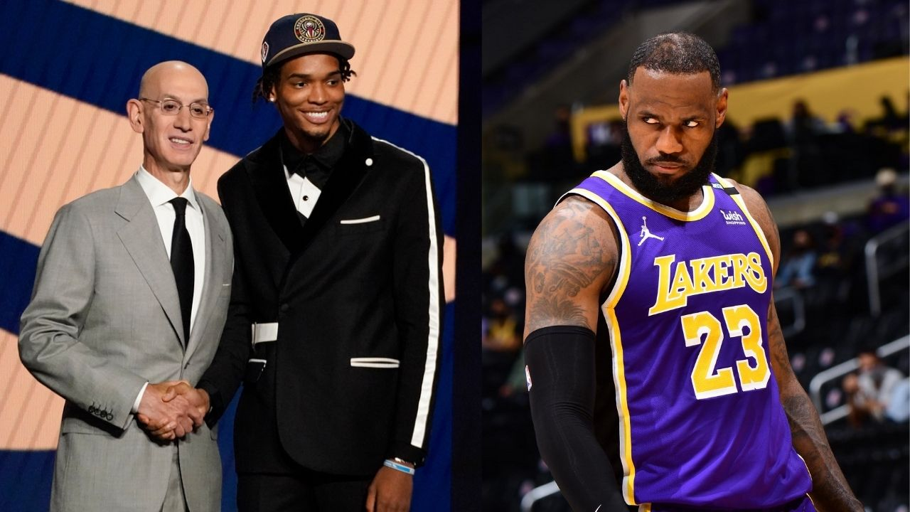 """""""It would be a crazy thing to face 'Uncle' LeBron"""": Bronny James' former teammate Ziarie Williams talks about facing LeBron James and the Lakers in the NBA"""