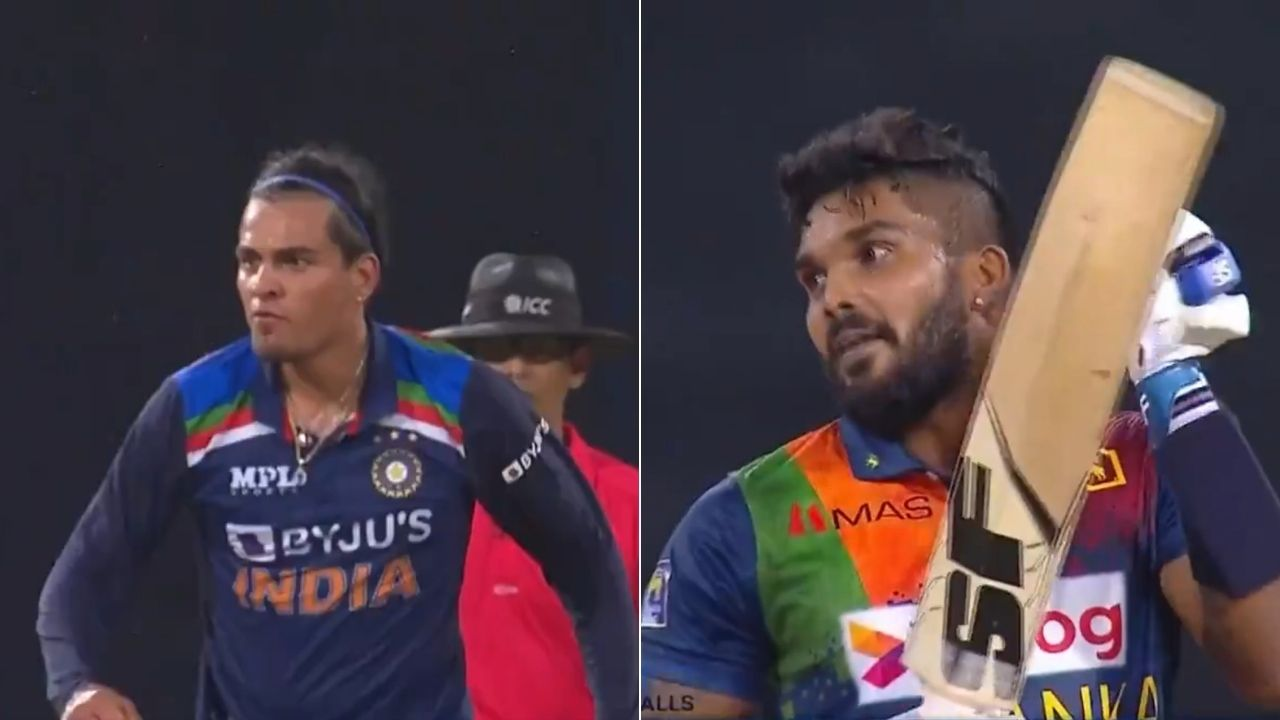 Rahul Chahar send-off: Wanidu Hasaranga applauds after getting dismissed by Rahul Chahar in Colombo T20I