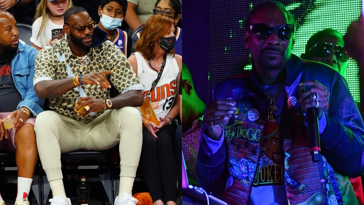 """""""Snoop Dogg and Kevin Hart are hilarious"""": LeBron James is seemingly enamored by the duo as they promote Tokyo 2020 and Snoop jokes about 'hotboxing'"""