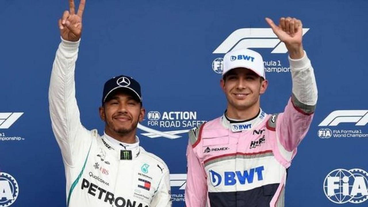 """""""That was like a couple of years ago""""– Lewis Hamilton schools Esteban Ocon's nostalgia"""