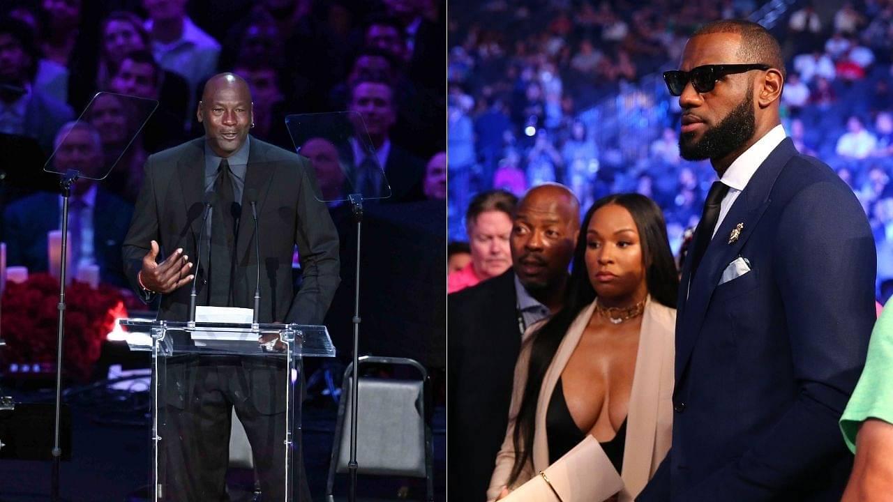 """Having Michael Jordan and Kobe Bryant as idols helped me focus on the game"": LeBron James explains how the GOAT debate fuels the Lakers superstar"