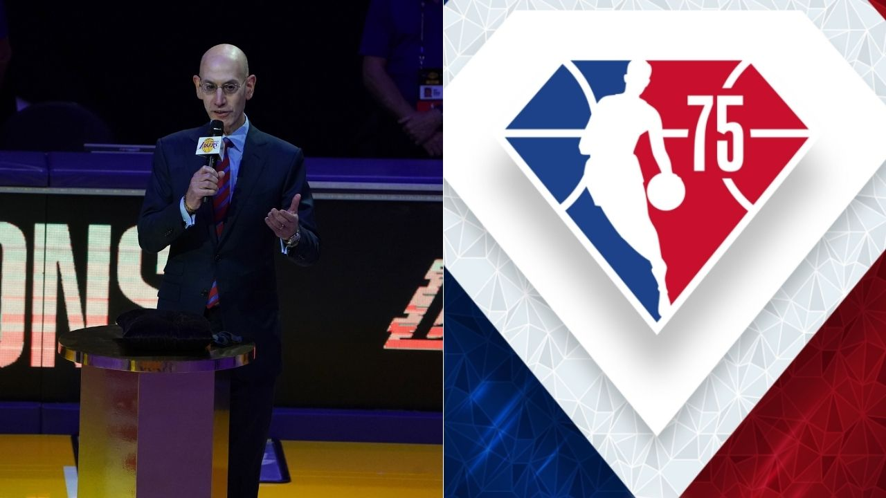 """""""Wack. Kobe logo or don't change sh*t"""": NBA gets roasted by fans after the league unveils the special 75th Anniversary Season diamond logo"""
