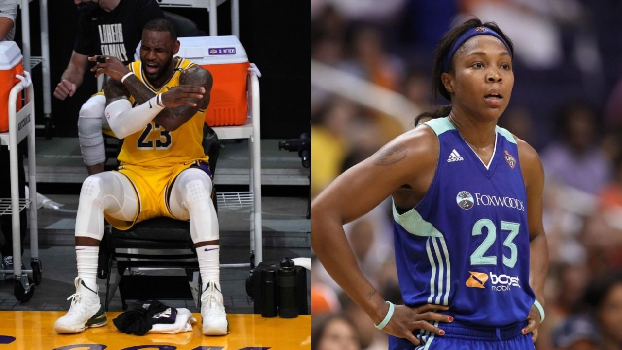 """""""LeBron James stole all of my money and trafficked me"""": Former WNBA All-Star Cappie Pondexter outrageously blames the Lakers MVP for reportedly going missing for 2 years"""