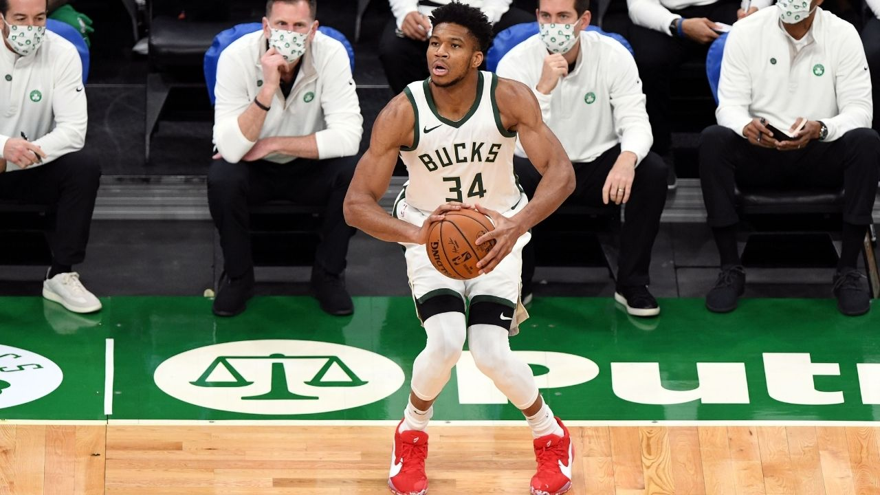"""""""Giannis has shrunk and disappeared in the playoffs too often"""": Skip Bayless aims potshots at Bucks star ahead of closeout Game 6 vs Hawks"""