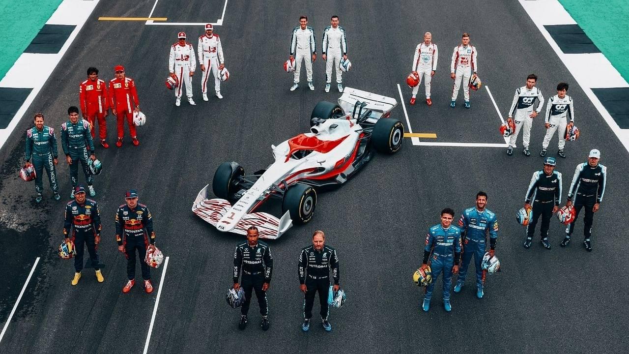 F1 2022 Car: Formula 1 reveals car of new era