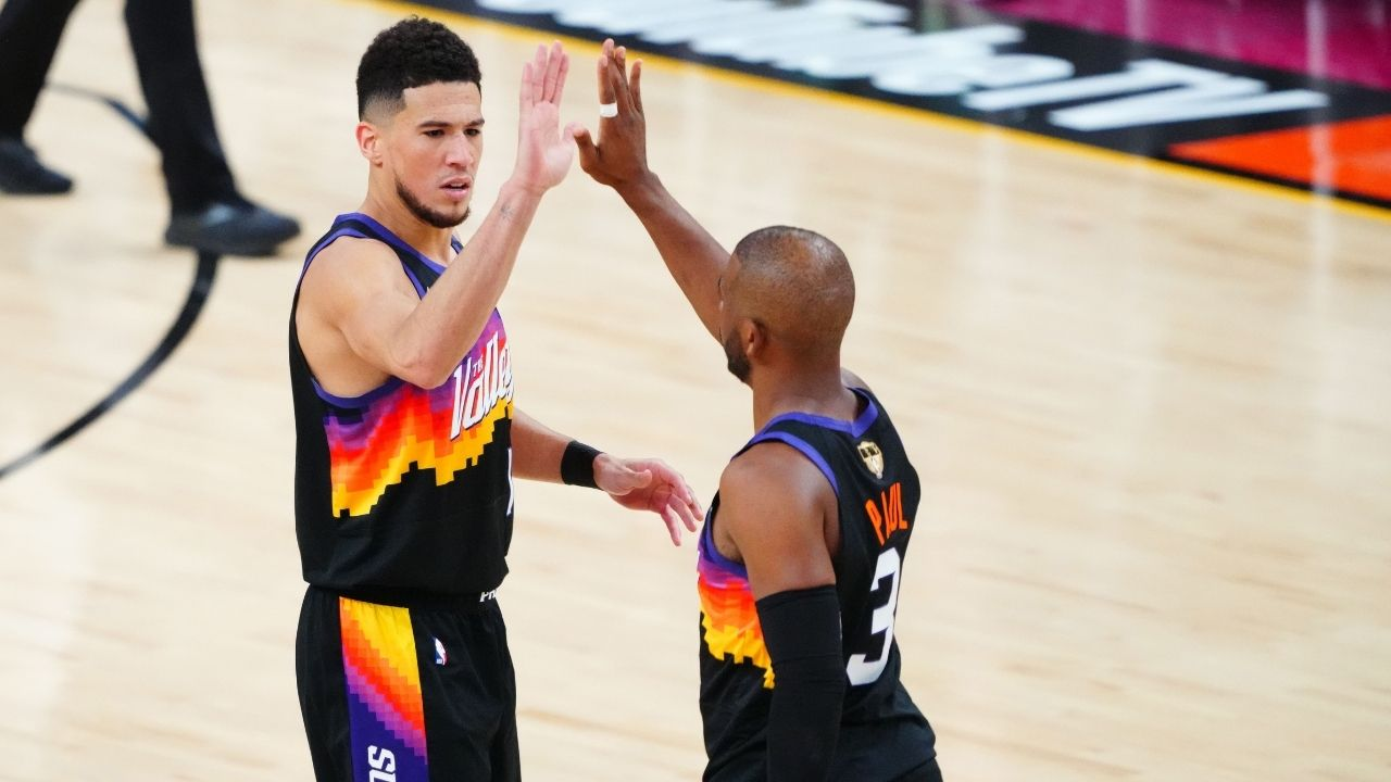 """""""Good morning or evening friends"""": Devin Booker wakes up with supreme confidence prior to Suns Game 1 victory over Giannis Antetokounmpo and the Bucks"""