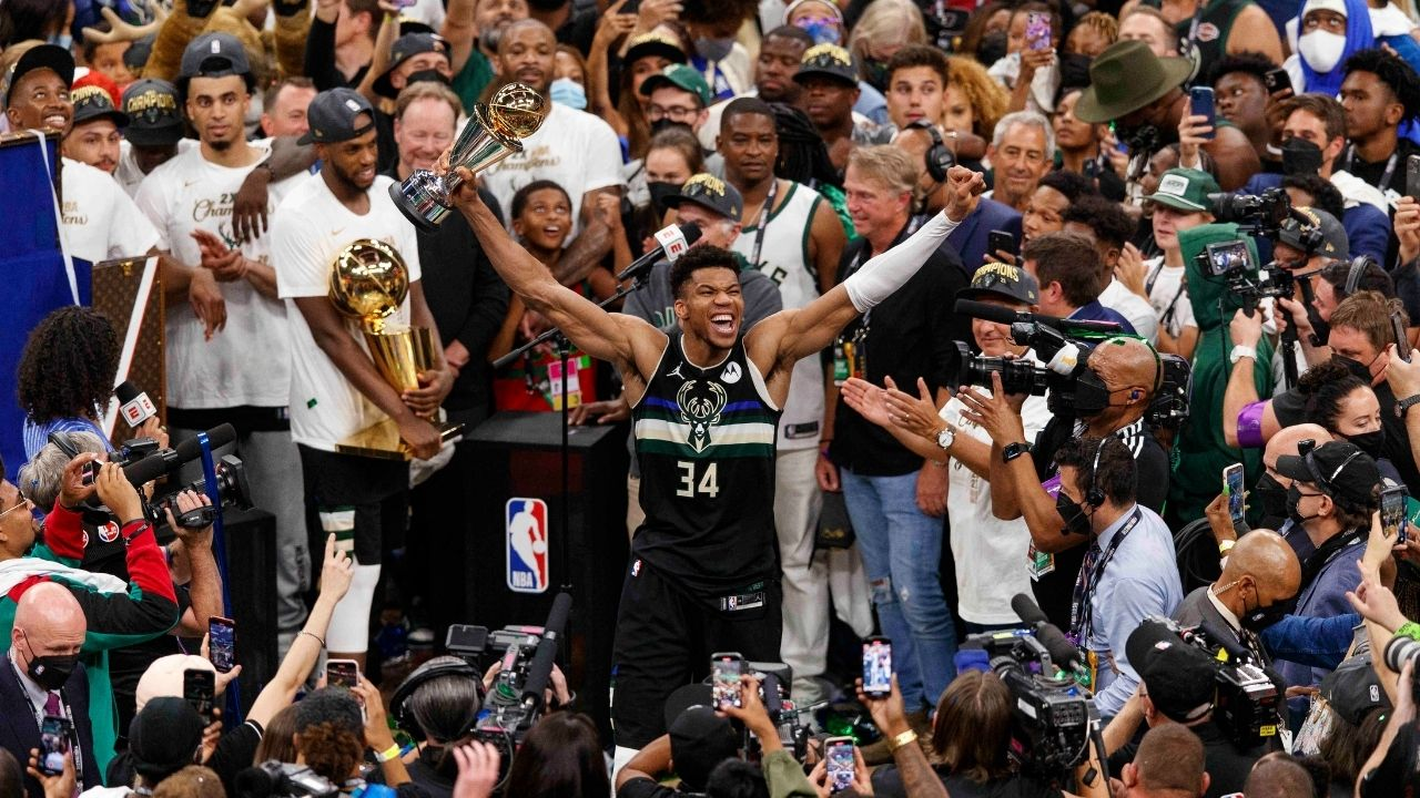 """""""Giannis ordered 50 Chick-Fil-A nuggets"""": Bucks superstar orders a piece of chicken for every point he scored in Game 6 while winning Milwaukee an NBA championship"""
