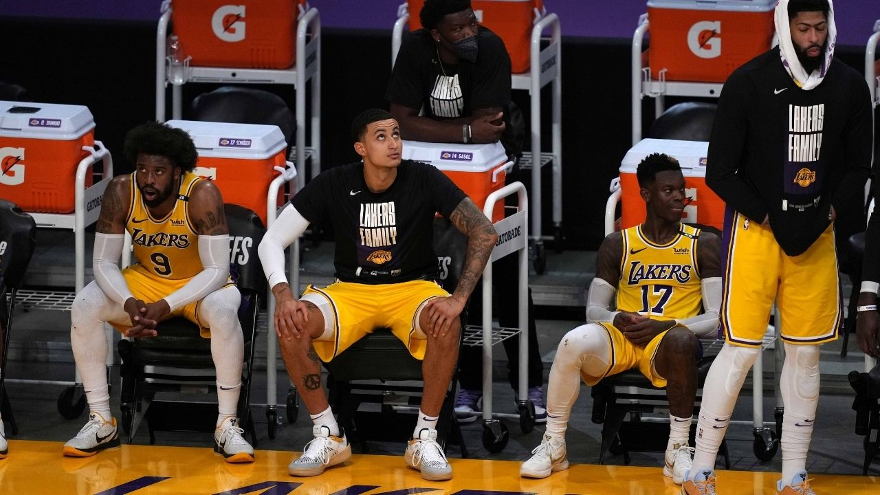 """""""Anyone who thinks Kyle Kuzma and Dennis Schroder feuded is a clown"""": Lakers star's agent puts a rest to the rumors revolving around LeBron James' teammates"""