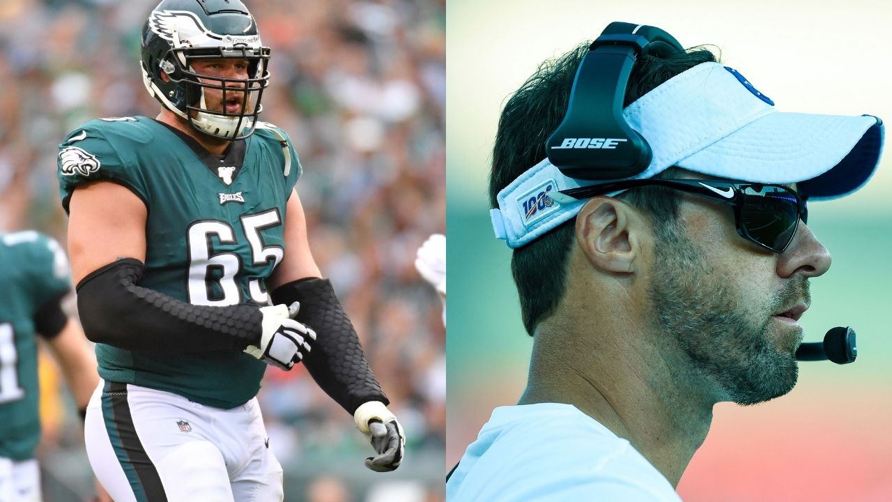 """""""Nick Sirianni has taken great command of the team early on,"""": Veteran Eagles RT Lane Johnson says he's impressed with new Head Coach"""