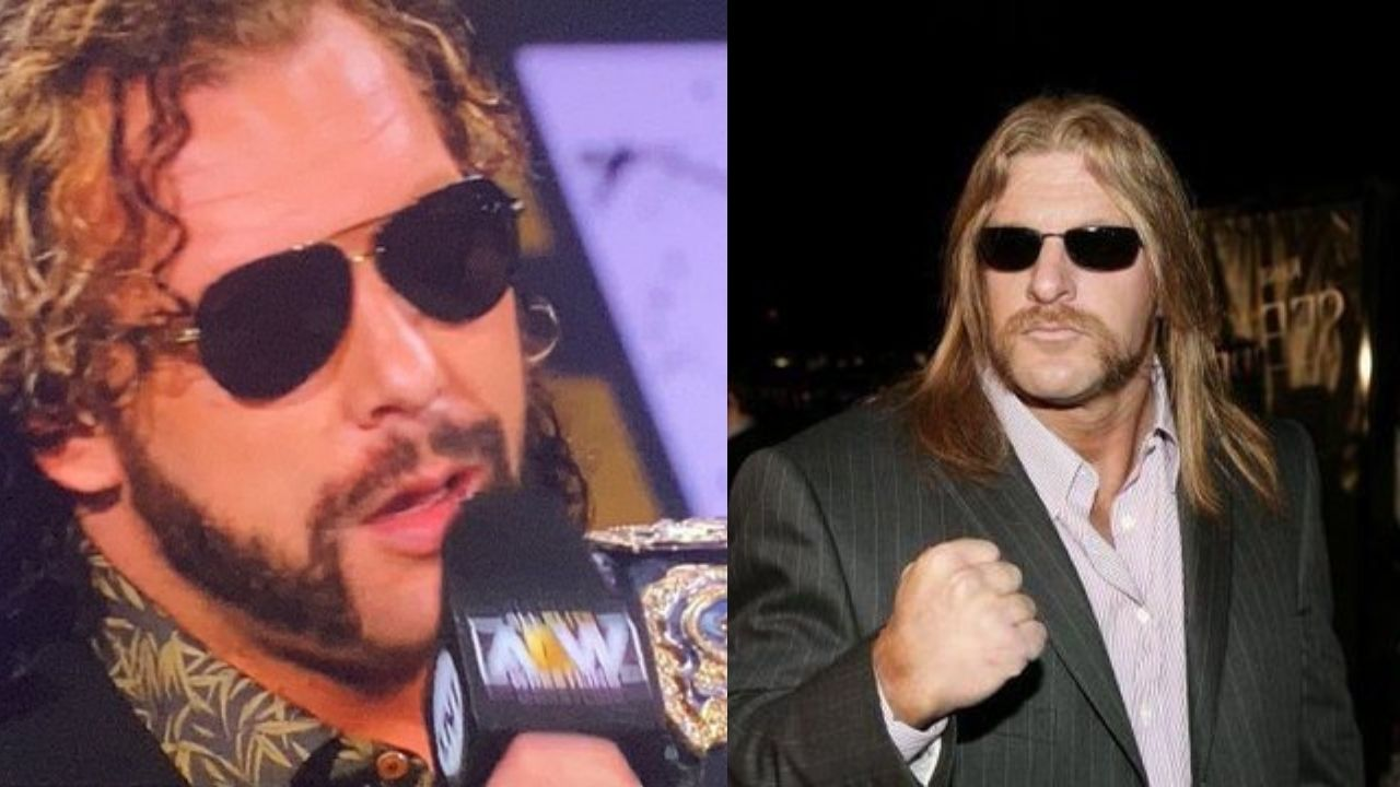 Kenny Omega says his new look is not inspired by Triple H