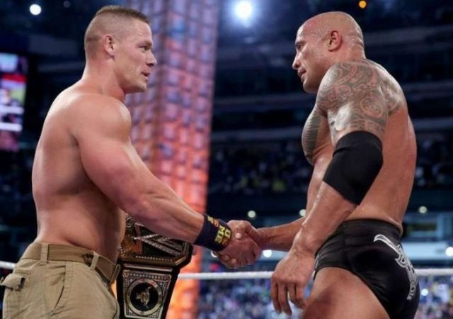 John Cena comments on the Rock making a potential return to WWE