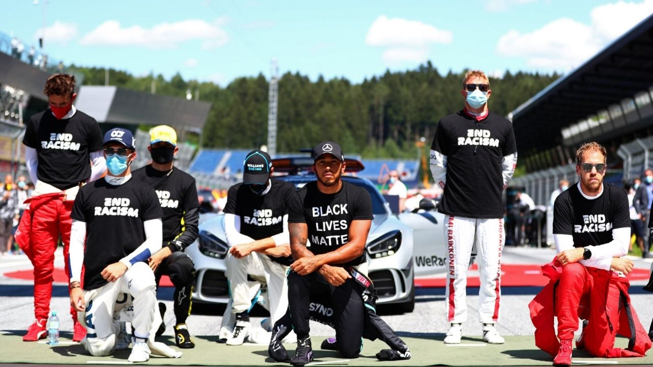 """""""I was in tears-I'd suppressed over all these years""""– Lewis Hamilton on racism in F1 and Black Lives Matter"""