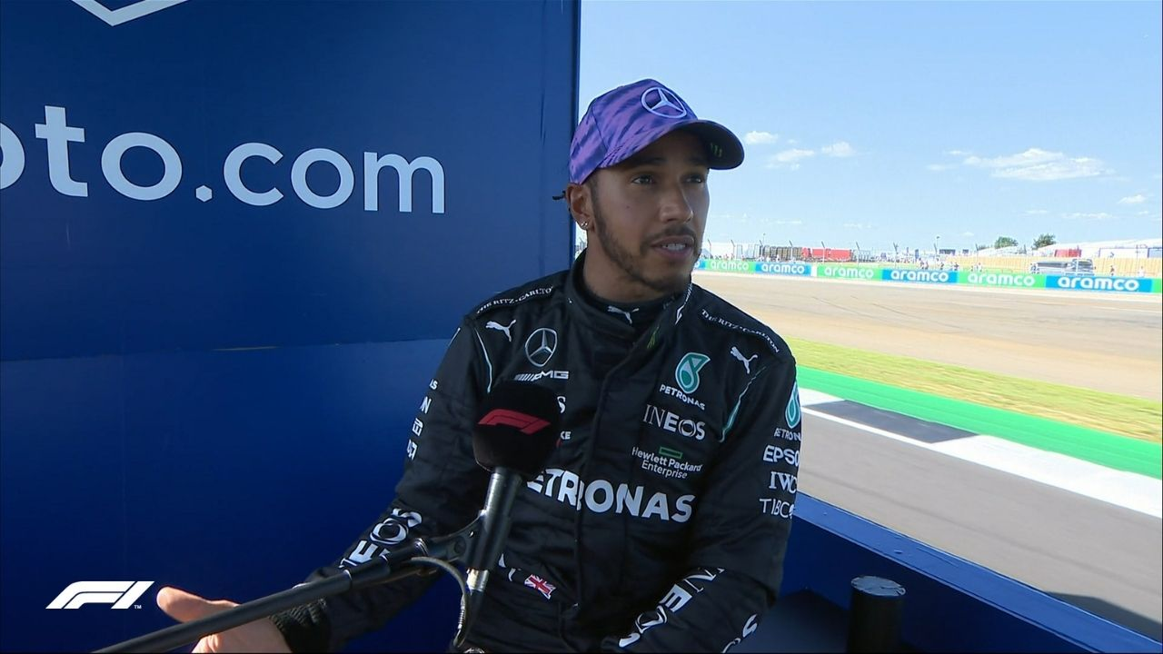 """""""I'm sorry I wasn't able to get the win""""– Lewis Hamilton apologizes to fans at Silverstone"""