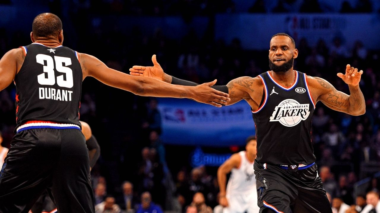 """""""The King still rules the clutch"""": A recent statistic shows that LeBron James is more clutch than Kevin Durant in NBA Playoffs"""