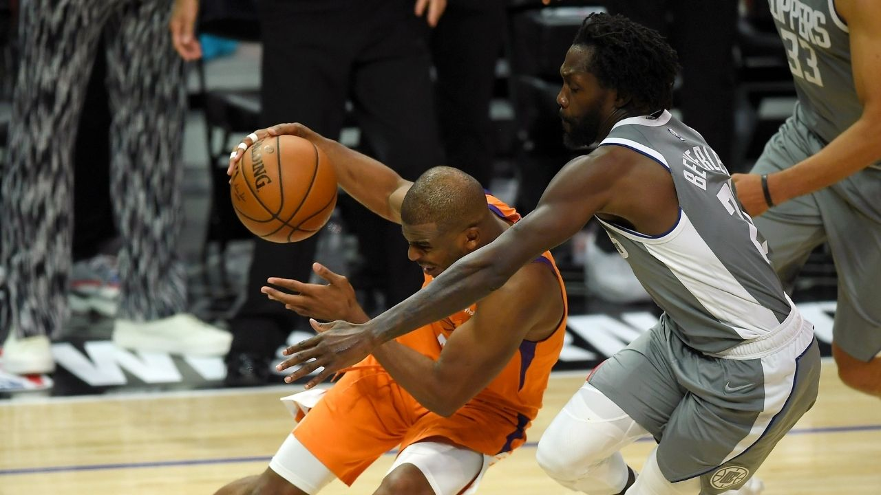 """""""Chris Paul wasn't innocent either!"""": NBA Reporter reveals shocking new details about Patrick Beverley's shove on the Suns point guard"""