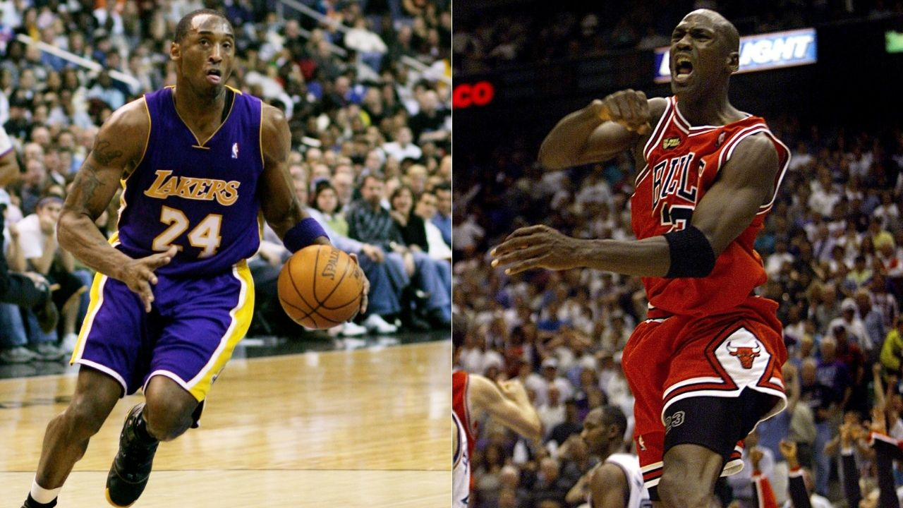 """""""God, Air Jordan and Kobe Bryant in that order"""": When Shannon Sharpe had the Lakers legend top-2 behind Michael Jordan in his all-time rankings"""