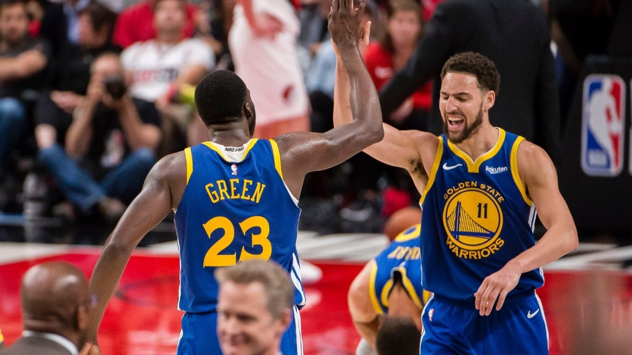 """""""I'm sick of Draymond Green taking so much money from me"""": Klay Thompson's Instagram rant about his Warriors co-star is a must-watch"""