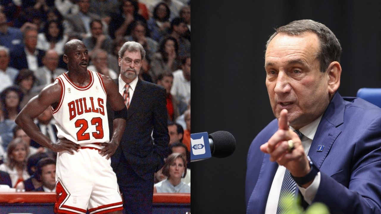 """""""Michael Jordan could've called me an idiot but he treated me with respect"""": Coach K recalls being shocked at the 'GOAT's' demeanor towards him while with the 'Dream Team'"""
