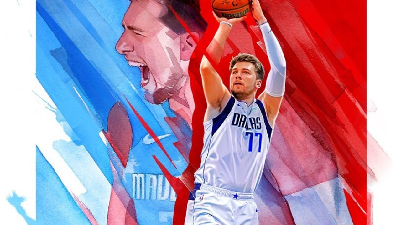 """""""Probably the worst tweet you've hit send on"""": NBA Twitter mock a fan for a racist take on Luka Doncic's NBA 2K22 cover"""