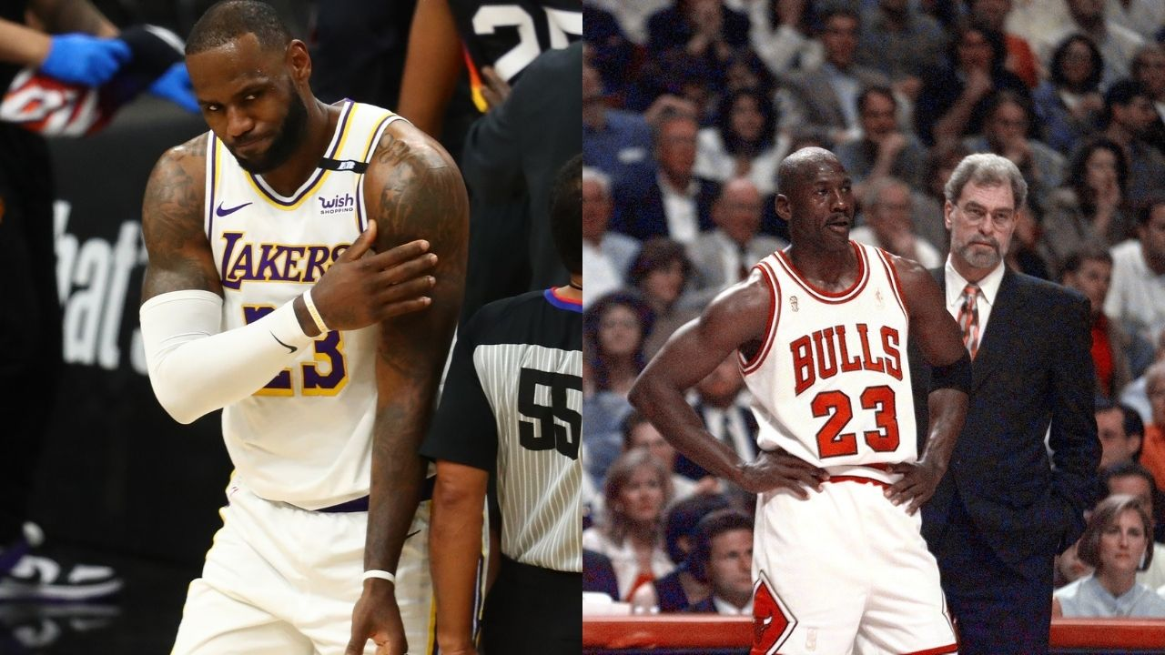 """""""Michael Jordan isn't hitting 'The Shot' over LeBron James"""": Metta World Peace gave his two cents on the 'GOAT' debate between the Lakers and Bulls legends"""