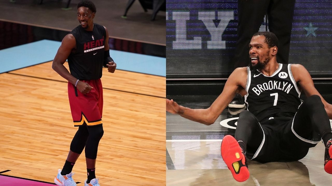 """""""Kevin Durant stop lying, Damian Lillard took your ball!"""": Nets MVP hilariously squabbles with Bam Adebayo for breaking an unwritten rule in basketball ahead of Tokyo 2020"""