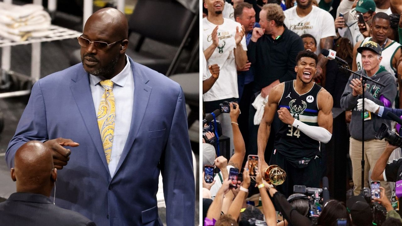 """""""Giannis is already Shaq in his prime right now!"""": Shannon Sharpe delivers a flaming hot take about the Bucks star after Milwaukee become NBA champs"""