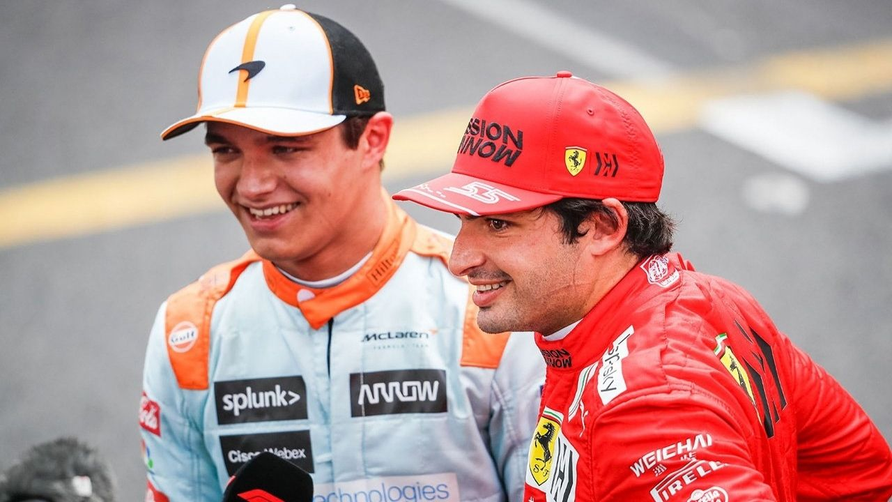"""""""There is probably no one I would want to beat more than Carlos [Sainz]""""– Lando Norris"""