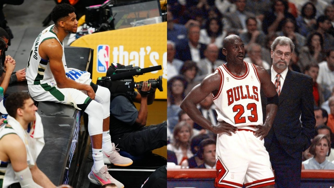 """""""How did Giannis lose after scoring 20 points in 1 quarter?!"""": NBA fans are perplexed by Bucks' Game 2 loss despite Michael Jordan-esque performance by their 2x MVP"""