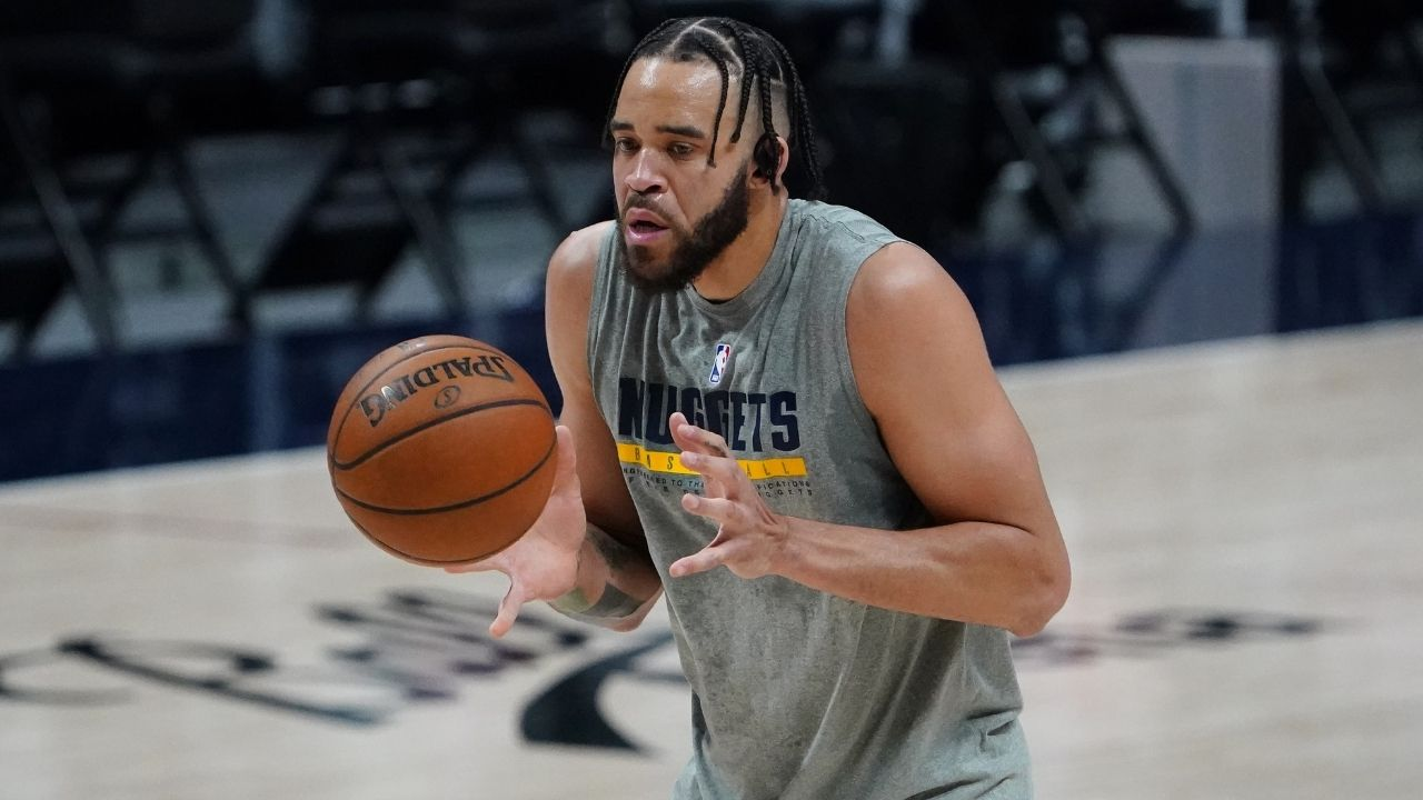 """""""JaVale McGee couldn't believe he got asked such a stupid question"""": NBA fans mock reporter who asked the Team USA big man whether his mom was alive or not"""