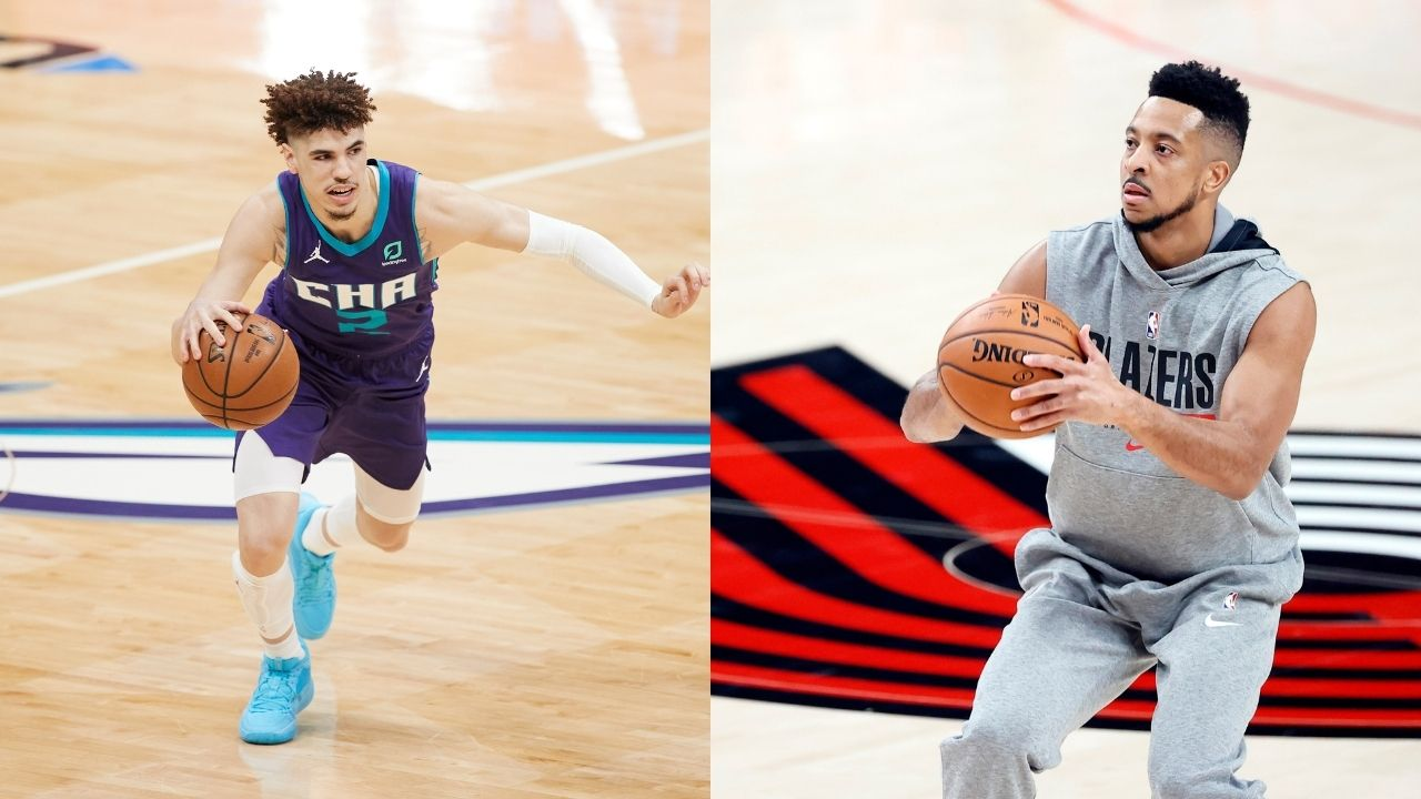 'When Michael Jordan is saying LaMelo Ball is better than we thought, must be true': CJ McCollum explains why Hornets star could be the face of the league