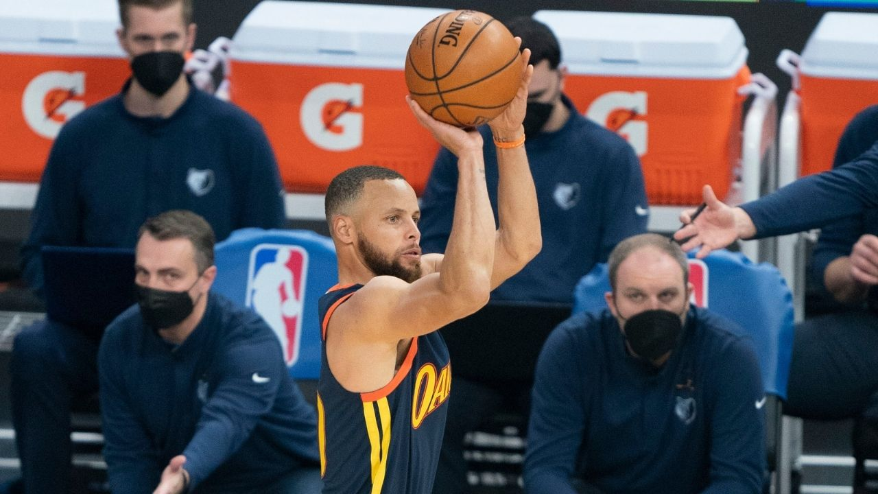 """""""Stephen Curry leveled up on a drill used by Steve Kerr"""": Warriors coaching staff reveal how NBA's only unanimous MVP tests himself in practice with a drill called 'Beat the Ogre'"""