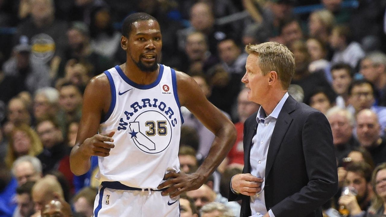 """""""Kevin Durant, you gotta say f**k it like LeBron James did"""": When Warriors' Head Coach Steve Kerr asked the Slim Reaper to be like the Lakers' superstar"""