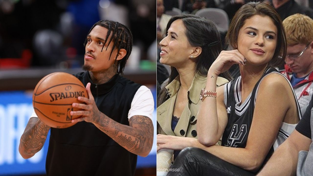 """""""Jordan Clarkson dated Kendal Jenner, Bella Hadid and is eyeing for that three peat"""": NBA fans mock the Sixth Man of the Year for supposedly shooting his shot with American singer Selena Gomez"""