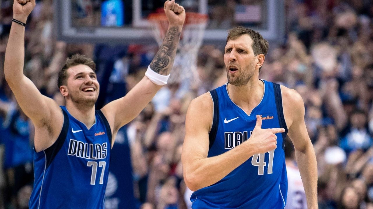 """""""Luka Doncic right now is better than me in my prime"""": Dirk Nowitzki assures Mavericks fans that their Slovenian prodigy has already surpassed him"""