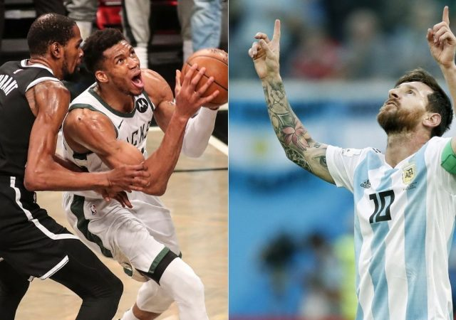 """""""Lionel Messi, that's insane"""": Kevin Durant, Bradley Beal and other NBA stars react to the GOAT's massive 4-year $674 million contract"""