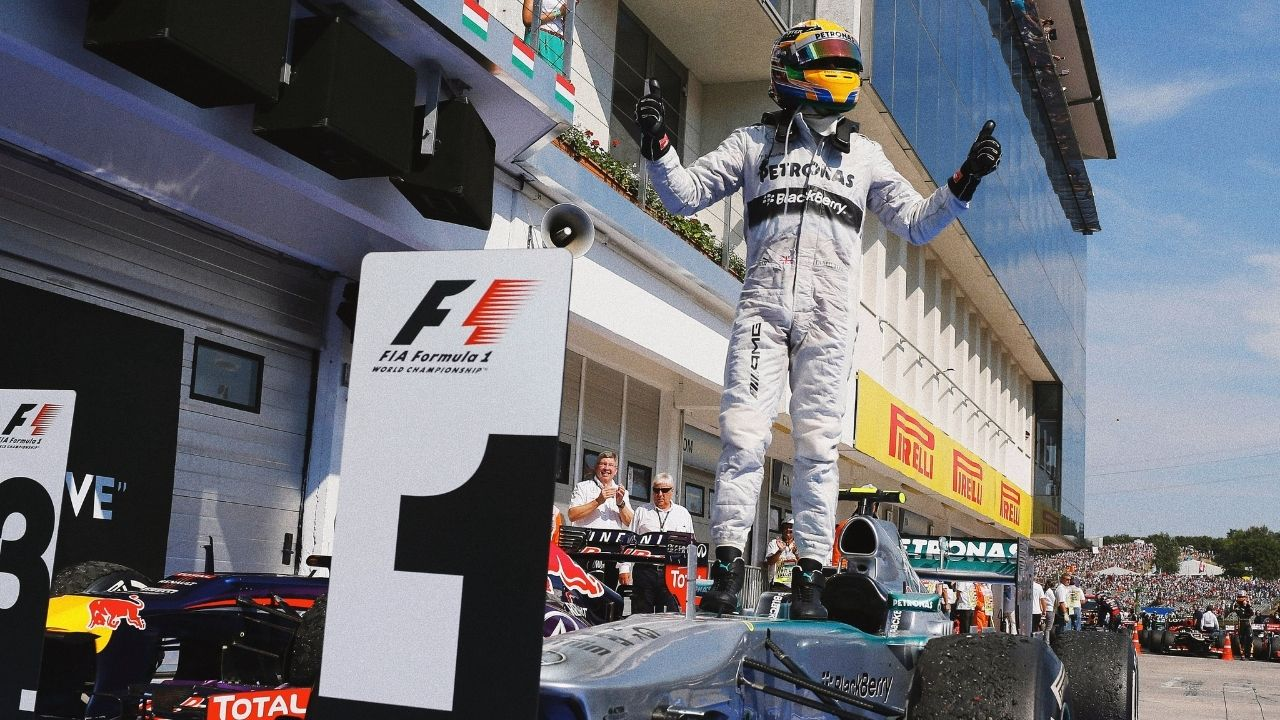 """""""Taking this energy into the weekend""""– Lewis Hamilton warns his rivals by reminding his prowess in Hungaroring"""
