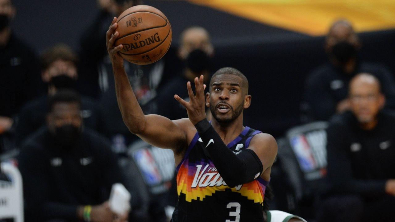 """""""I was happy Devin Booker and the Suns squad came over and kicked it with me"""": Chris Paul reveals fears over not being able to connect with his young teammates at 36-years-old"""