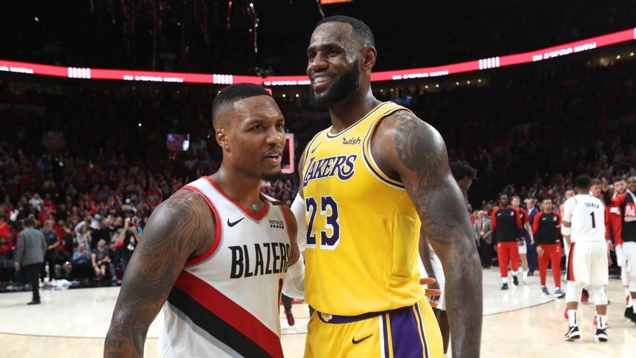 """""""Who should I love?"""": Damian Lillard sparks team up rumors with LeBron James and the Lakers following a cryptic message on Instagram"""