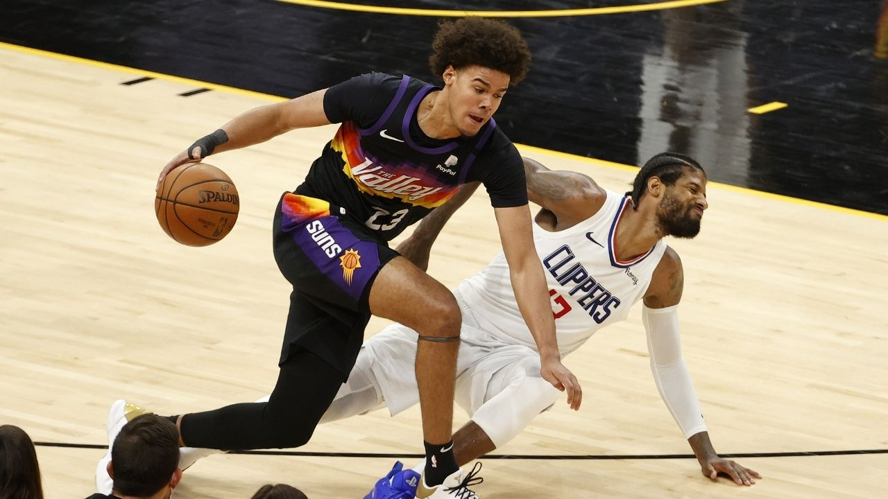 """""""Cam Johnson is in the NBA Finals playing crucial minutes and getting his Masters Degree at the same time?!"""": Phoenix Suns' forward talks about finishing his masters in the upcoming months"""