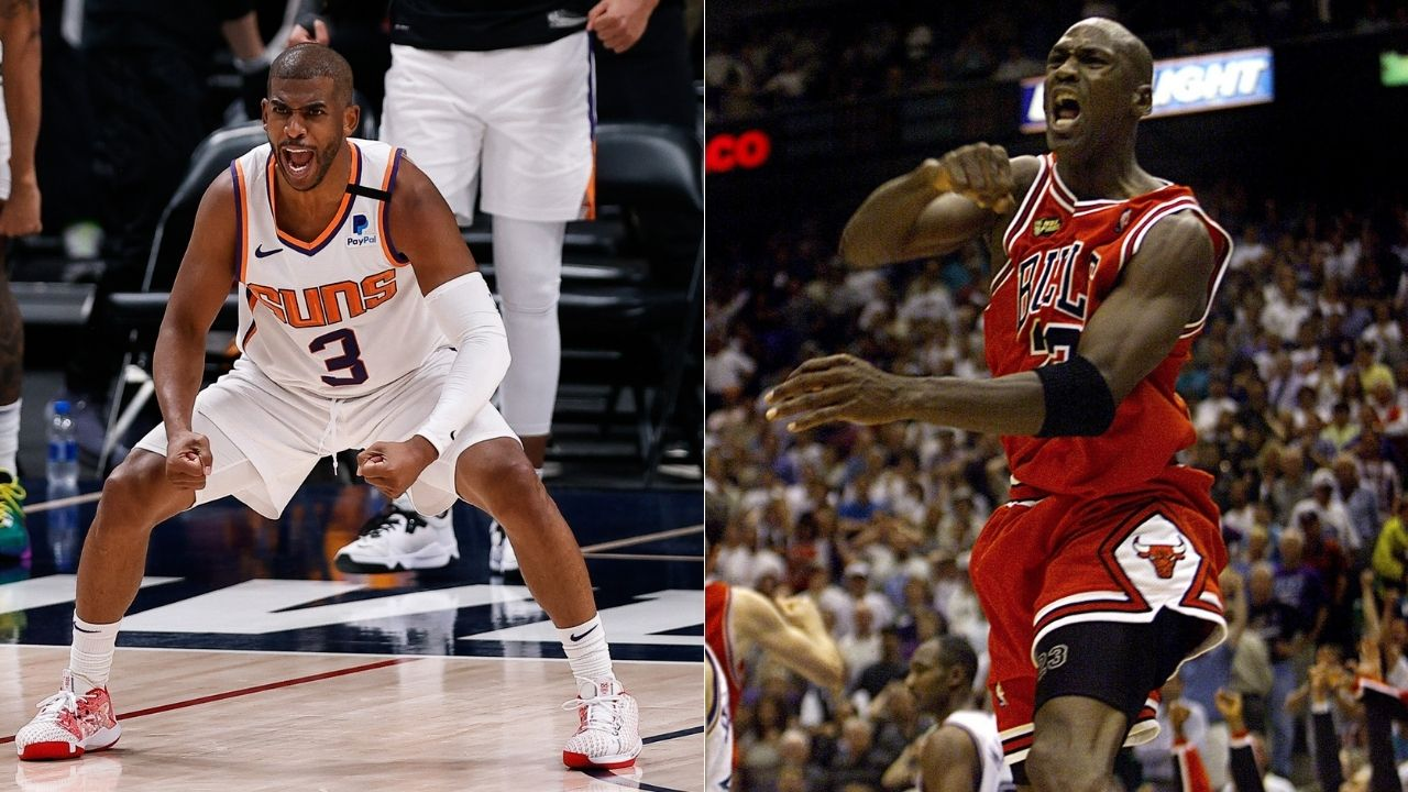 """""""Chris Paul breaks a record previously held by Michael Jordan"""": Suns star rewrites record books, becomes oldest player to post 40+ points in a closeout game over Bulls legend"""