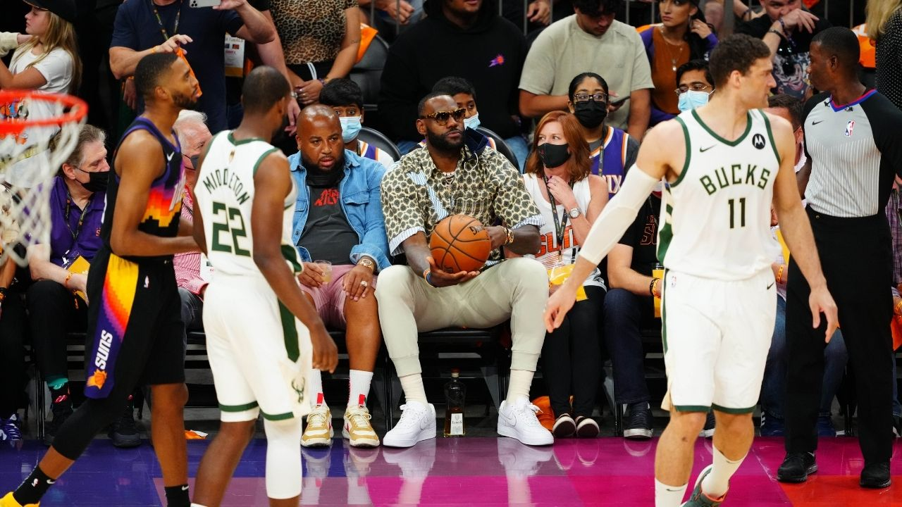 """""""This is what happens when LeBron James shows up to your NBA Finals home game"""": Skip Bayless launches yet another unwarranted assault on the Lakers' star"""