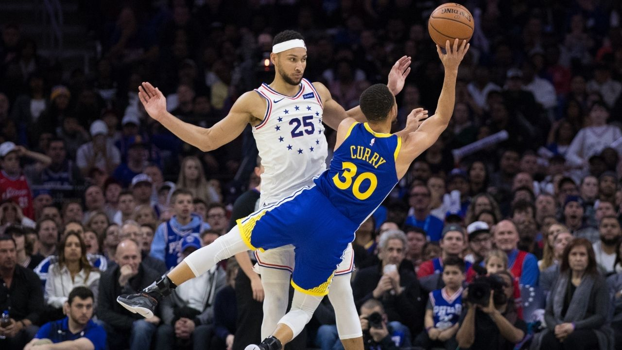 """""""Ben Simmons could take the Golden State Warriors to their next NBA championship"""": Colin Cowherd makes his ideal move for the 76ers star be known ahead of this off-season"""
